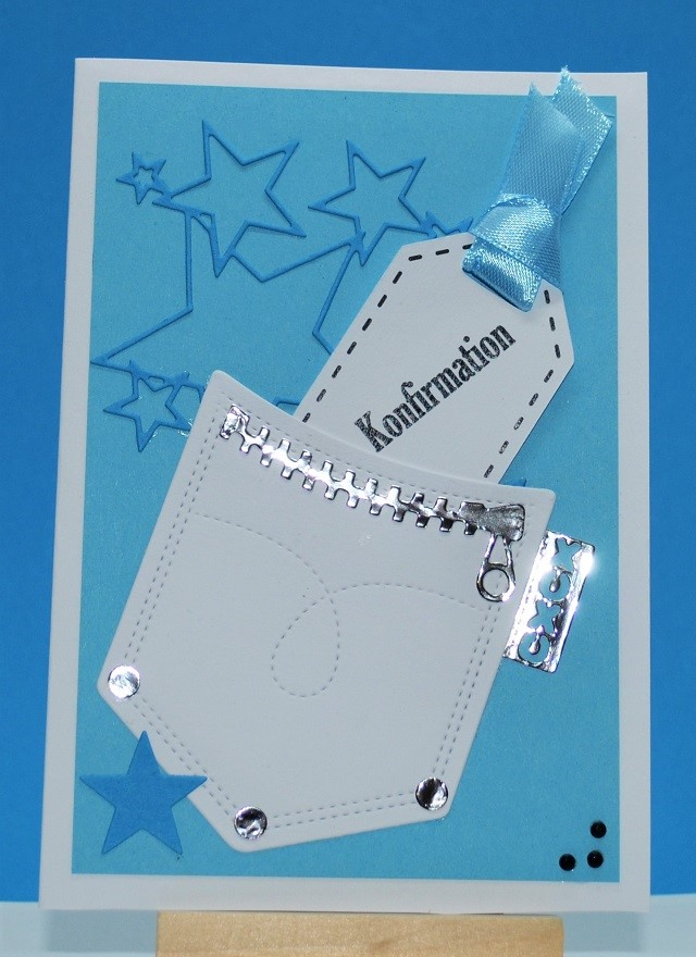 Confetti Bordkort Indbydelser Konfirmation Indbydelse Samt